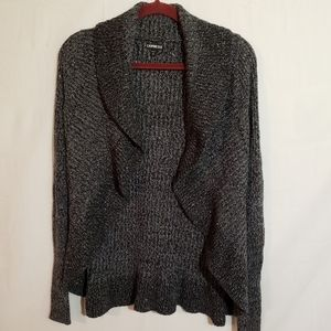 Express XS cardigan knitted sweater.   A096